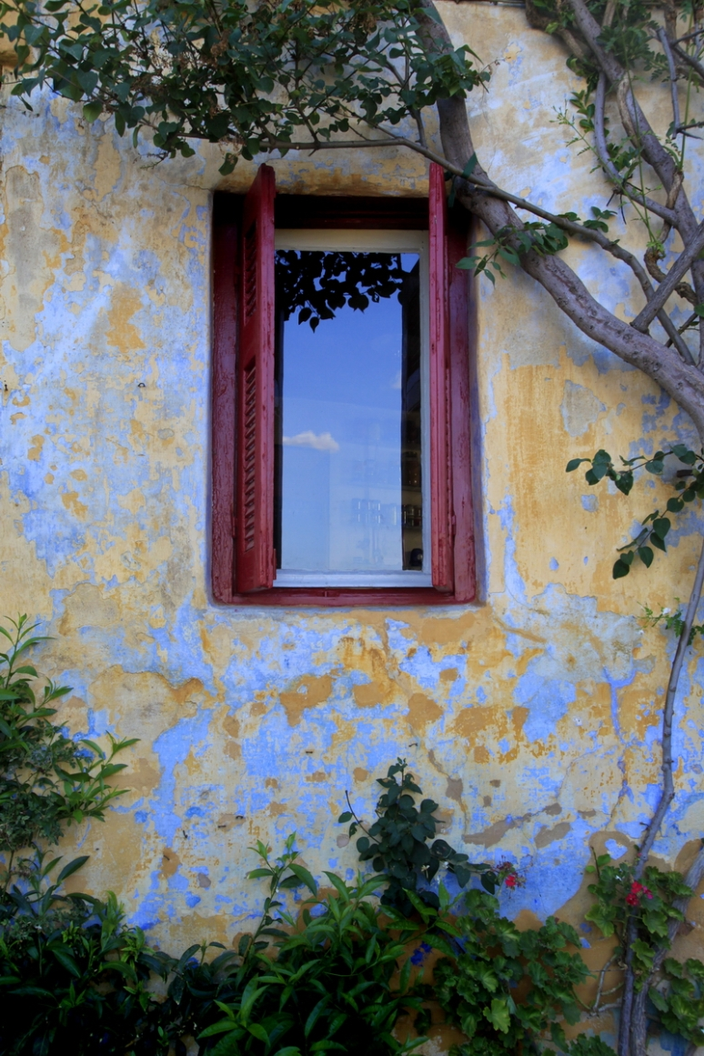 A well known window at Anafiotika