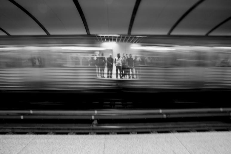 Leaving trains