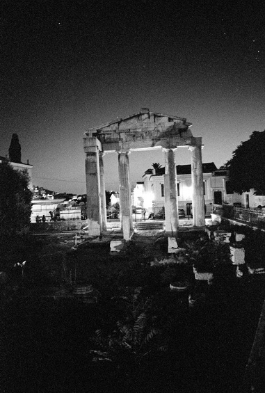 vg b414 bw 13 st 2003 the entrance of Agerides at Plaka